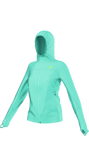 adidas TS Cocona Fleece Hoody Women vivid mint f14